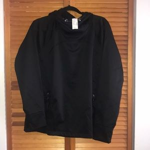 Black sweatshirt from Maurice's